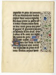 Book of Hours, 1435, Verso
