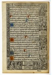 Book of Hours, 1500, Verso