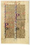 Breviary, 1350, Recto