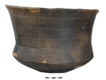 Caddo Carinated Jar 098A by Caddo Native American Tribe and Dr. Jeffrey Girard