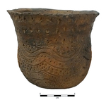 Late Caddo Jar 108A by Caddo Native American Tribe and Dr. Jeffrey Girard