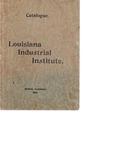 1899-1900 Louisiana Industrial Institute Catalogue