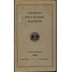 1930-1931 Louisiana Polytechnic Institute Catalogue