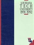 1991-1992 Louisiana Tech University Catalog by Louisiana Tech University