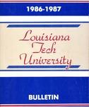 1986-1987 Louisiana Tech University Catalog