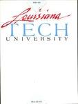 1985-1986 Louisiana Tech University Catalog