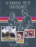 1982-1983 Louisiana Tech University Catalog