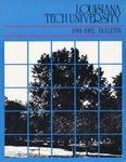1981-1982 Louisiana Tech University Catalog
