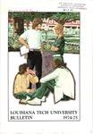 1974-1975 Louisiana Tech University Catalog