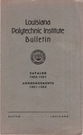 1950-1951 Louisiana Polytechnic Institute Catalog