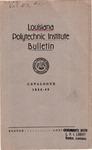 1944-1945 Louisiana Polytechnic Institute Catalogue