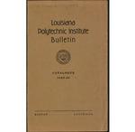 1943-1944 Louisiana Polytechnic Institute Catalogue