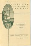 1938-1939 Louisiana Polytechnic Institute Catalogue