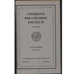1936-1937 Louisiana Polytechnic Institute Catalogue