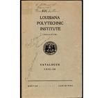 1935-1936 Louisiana Polytechnic Institute Catalogue