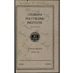 1934-1935 Louisiana Polytechnic Institute Catalogue