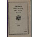 1933-1934 Louisiana Polytechnic Institute Catalogue
