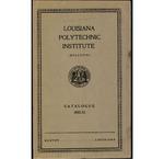 1932-1933 Louisiana Polytechnic Institute Catalogue