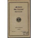 1931-1932 Louisiana Polytechnic Institute Catalogue
