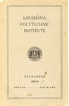 1930-1931 Louisiana Polytechnic Institute Catalogue